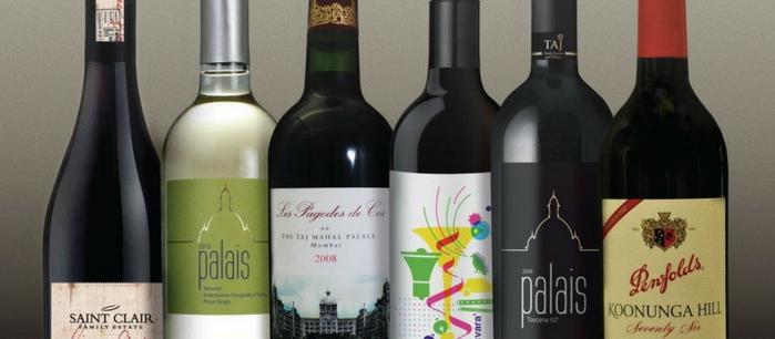 Taj Private Label Wines